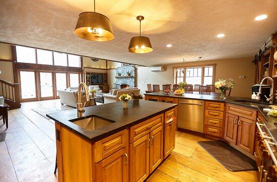 Lodge chef's kitchen