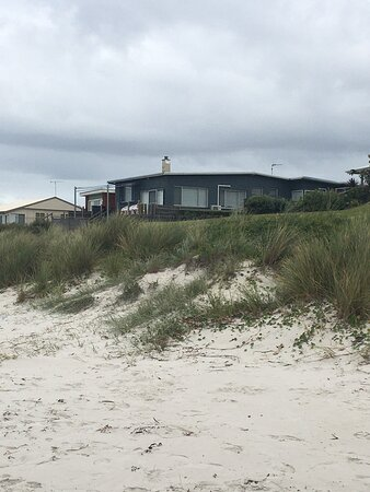 Praia de Callala, Austrália: Great houses on the beach