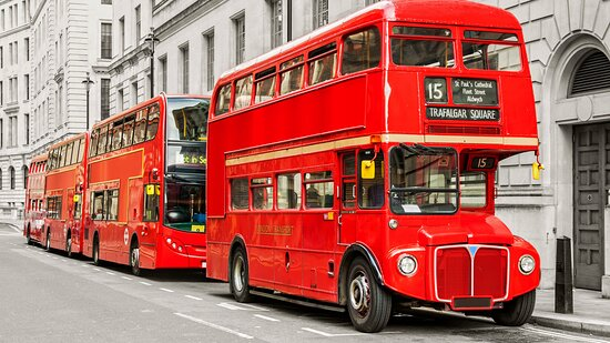 You can explore the sights of London with connections every 10 min