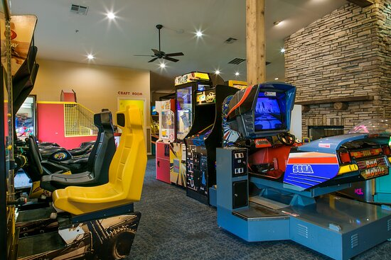 Have some fun in the game room with friends and family