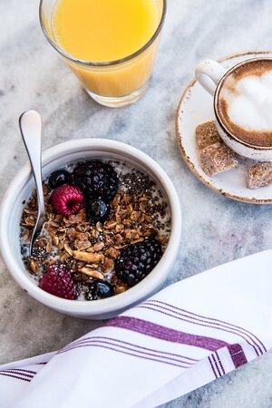 Breakfast Available