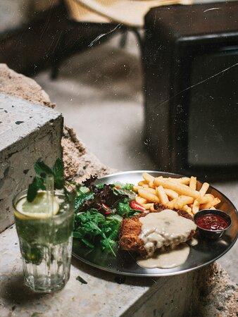 Mornay Chicken Chop
