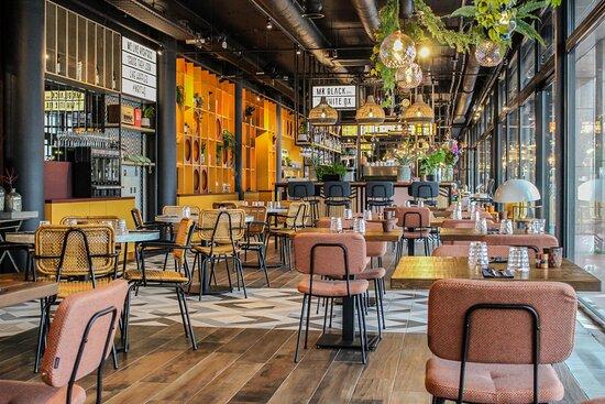 Ουτρέχτη, Ολλανδία: Restaurant Mr Black and The White Ox