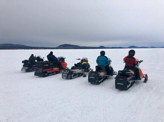 Wonderful day of sledding!