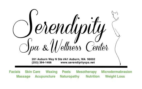 Auburn, WA: Serendipity Logo