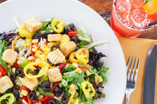 Get colorful with our salads
