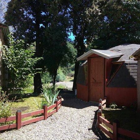 Curarrehue, Chile: Un pequeño espacion para un buen descanso.😊👍