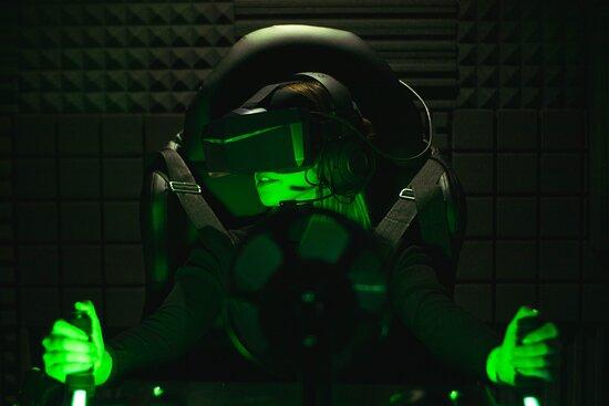 Injoy VR простір реальної віртуальності. Американські гірки