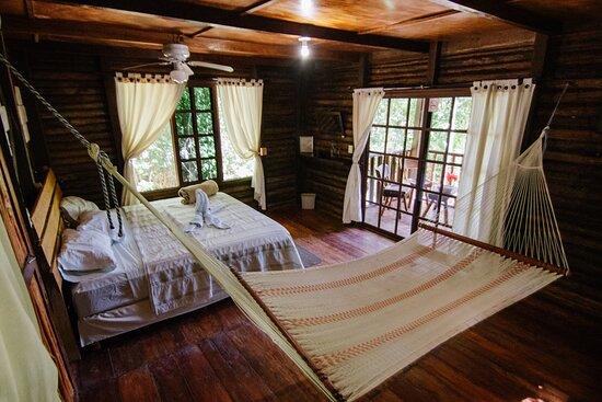 Laguna Guerrero, Mexico: Cabaña doble cama. King size