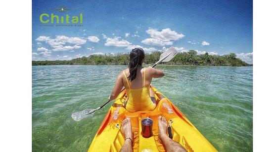 Laguna Guerrero, Mexico: Tour de kayaks