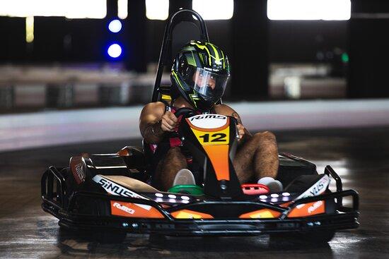 Moore Park, Australie: Racing at Hyper Karting