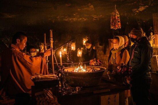 Buddhist (Gomataki) Fire Ritual in a 1300 Year-Old Cave (Even...