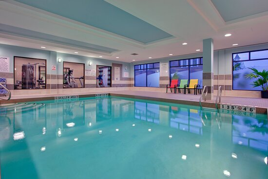 Kids of all ages enjoy our indoor swimming pool open every day