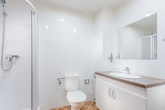 Koupelna Standard v části hotelu Dům pánů z Vizovic