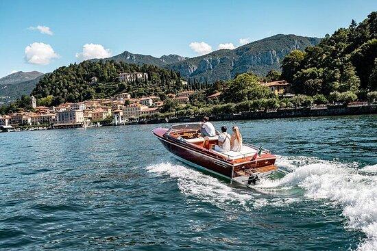 Cadenazzi Wooden Speedboat Private tour on Como Lake