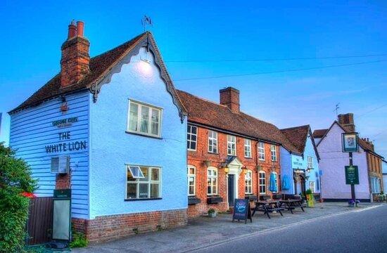 Walkern, UK: Front of pub
