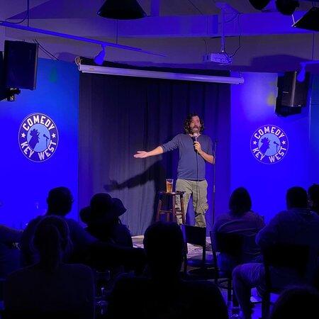 comedy club in key west florida.