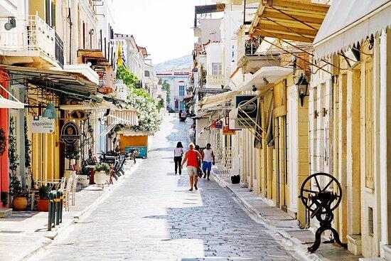 Visite guidée à pied de la ville d'Andros