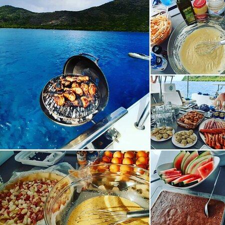Grande-Terre Island, جوادلوب: Le plaisir d'un Barbecue en Mer