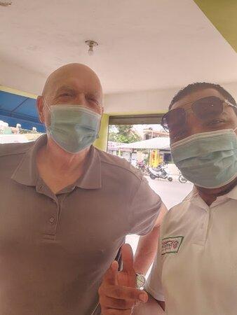 Yojan, the best shuttle driver in Punta Cana