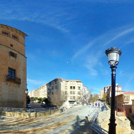 Handsome buildings in Soria Town Centre