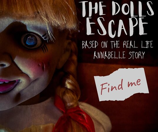 Webster, TX: ROOM CAPACITY: MIN: 3 MAX: 8 You are on a tour of the Warren Occult Museum when suddenly...a demonic doll goes MISSING! Locked inside the museum, you now have only one hour to find Annabelle and return her to her case before she gets you first. LEVEL: 4 out of 5 (creepy) SUCCESS RATE: 45%
