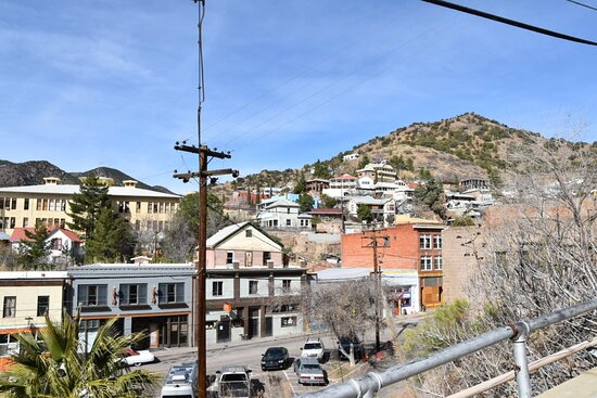 View of Bisbee from the Jeep Tour
