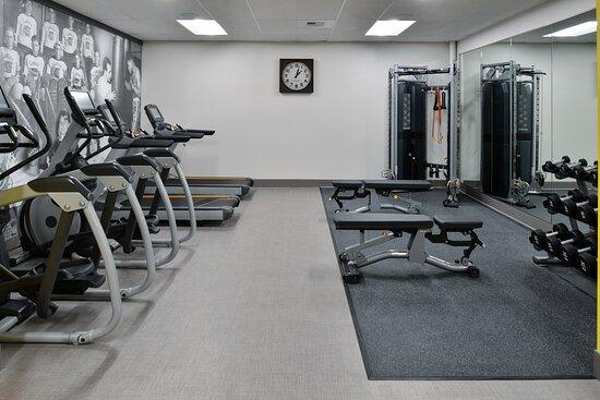 Hotel Indigo Spokane. 24 Hour fitness center.