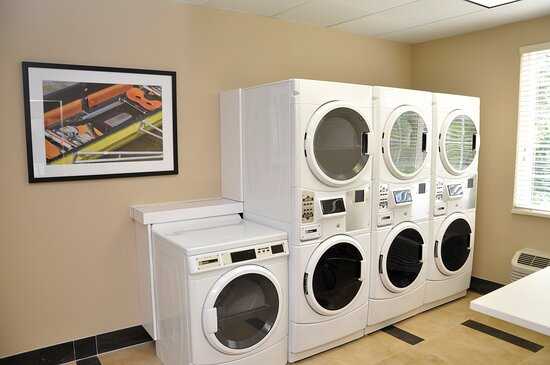 Complimentary 24 Hour Guest Laundry with Washers/Dryers