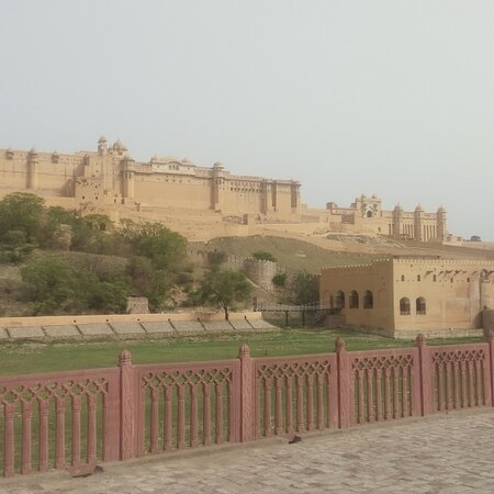 Histrocial palace in Rajasthan India
