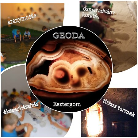 Geode Interactive Paleontology and Mineral Show
