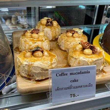 #Coffee #Macadamia #Cake