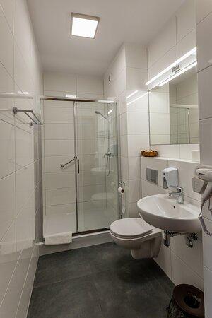 Stegna, Polen: łazienka