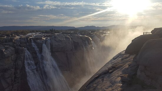 Augrabies Falls National Park, Sudáfrica: Taken from the platform on the Western side