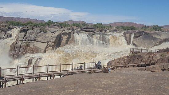 Augrabies Falls National Park, Sudáfrica: Main part of the falls