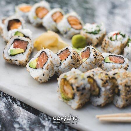 Combinados de nuestro sushiman