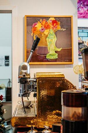 The only espresso machine in Bancroft!