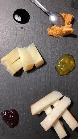 Canarian Cheese platter