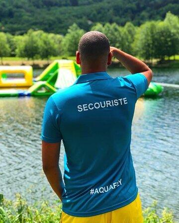 Saulxures-sur-Moselotte, France: Le parc est sous la surveillance de sauveteurs diplômés..