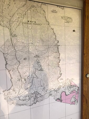 Cape D'aguilar Marine Reserve - typography map