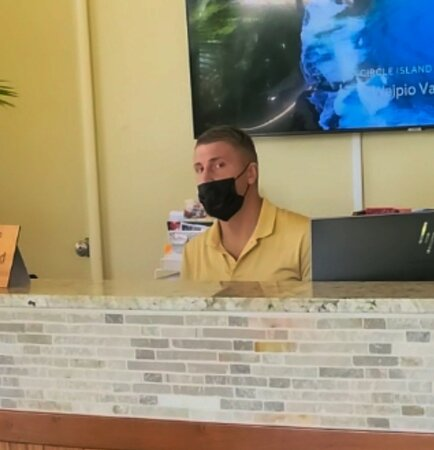 This is Ricky at the hotel Concierge - he couldn't be LESS helpful.  Avoid at all costs.
