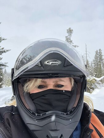 We did the half day Teton trip and loved it. Thankful for the transportation back and forth from hotel. Dakota did an excellent job with directions about the snow mobile and patience when we got buried in snow. It was an absolute blast!!! Must do!