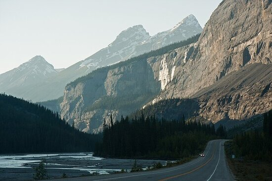 Tour guidato audio guidato da GPS tra Lake Louise e Revelstoke
