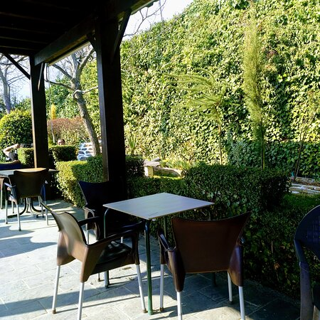 De los mejores sitios para ir a comer en Capileira... buena comida, buen ambiente, buen servicio y un jardín maravilloso para disfrutar de todo. 100% recomendable