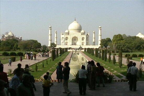 Taj Mahal at Sunset and Agra Day Tour...