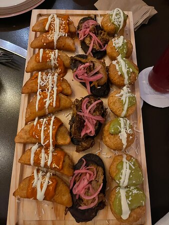 Appetizers at The Mole