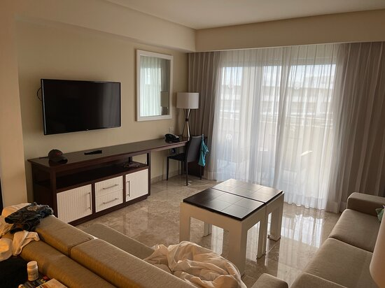 The Living space in the room