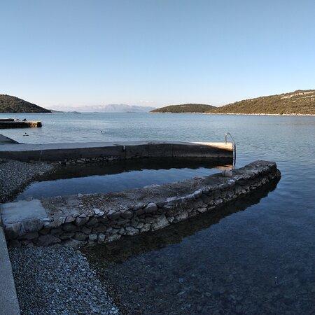 Peljesac Peninsula, Croatia: This view from sea got me like.