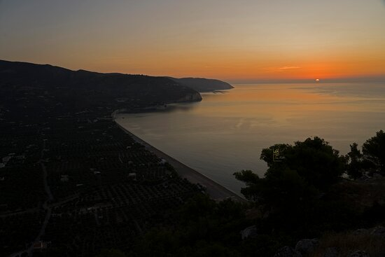 Vista sulla Spiaggia di Mattinata - Lido San Matteo