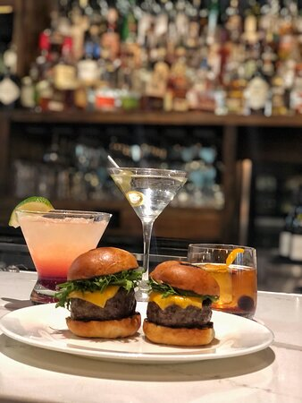 Happy Hour at The Bar/ Wagyu Sliders